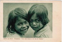 Missiën Van Scheut, Philippijnen, Voor Zulke Kleinen Is Het Rijk Der Hemelen, Filippijnen (pk35372) - Philippines