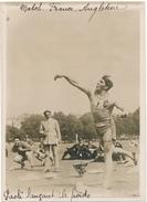 Photo De Presse 1925 - Match D'Athlétisme France-Angleterre - Paoli, Lancement Du Poids - Deportes