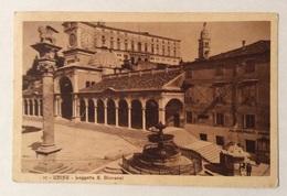 UDINE LOGGETTA S. GIOVANNI 1928   VIAGGIATA FP - Udine