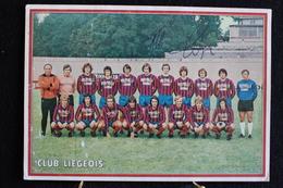 P 343 / Equipe De Football / Voetbal Ploeg - CARTE DE L´EQUIPE DU FOOTBALL CLUB LIEGEOIS - SAISON 1968-1969 ? / Circulé - Voetbal