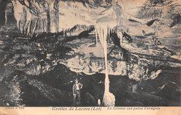 46 - Lacave - Les Grottes - La Colonne Aux Pattes D'Araignée - Lacave