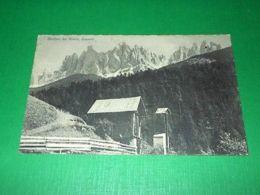 Cartolina Motivo Da Funes - Dolomiti 1935 Ca - Bolzano