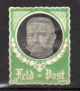 FELDPOST MH (damage At Right: Open 'hole) Original Gum  (r64) - Germany