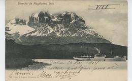 CHILI - CHILE - Estrecho De MAGALLANES - Canal De Las Montanas (bateau ) - Chile
