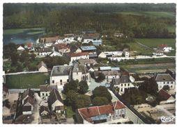 Cpsm La Motte-Tilly - Vue Aérienne Sur Le Bourg - France