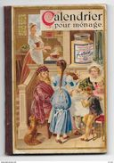 RARITA' CALENDIER Pour Ménage Offert Par La COMPAGNIE LIEBIG 1890 - 120 Pag- Mis. 8,2x11,9 - BUONO STATO - Calendari