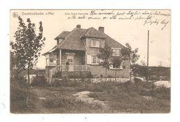CPA Belgique OOSTDUINKERKE Villa Marie Henriette Peu Commune - Oostduinkerke