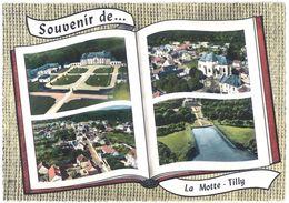 Cpsm La Motte-Tilly - Vue Générale ( Multivues ) - France