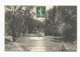 Cp , 94 ,  CHAMPIGNY , La MARNE , étude Artistique , Voyagée - Champigny Sur Marne