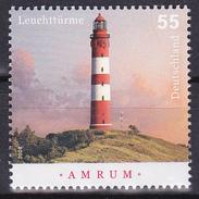 Timbre-poste Neuf** - Phare D'Amrum - N° 2503 (Yvert) - République Fédérale D'Allemagne 2008 - BRD