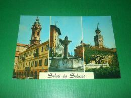 Cartolina Saluti Da Saluzzo - Vedute Diverse 1970 - Cuneo