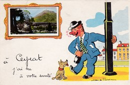 CEYRAT - Carte Humoristique - Otros Municipios