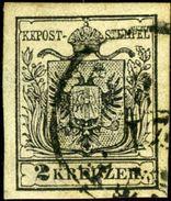 Austria. Scott #2c. Machine Paper. Used. VF - Used Stamps