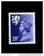 GREAT BRITAIN - 1983  SCOTLAND  28 P. Type II   PERF. 15 X 14  MINT NH - Regionali