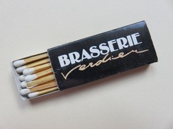 Boîte D´allumettes - Brasserie Verdier - 17 Rue Des Vieillards - 63000 Clermont-Ferrand - Boites D'allumettes - Etiquettes