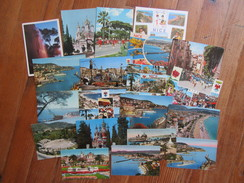 Lot De 20 Cartes De Nice    Alpes Maritimes - 5 - 99 Postkaarten
