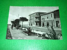 Cartolina Cecina Mare - Albergo Lido 1955 Ca - Livorno