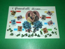 Cartolina Linguaggio Dei Francobolli - I Francobolli Dicono ... 1956 - Postcards