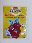 Magnet - Savane Brossard - Carte De L´Europe - Roumanie - Serbie - Bulgarie - Moldavie - Kosovo - NEUF - Animals & Fauna