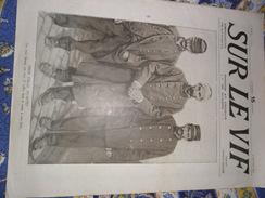 Sur Le Vif N° 8 Du 2-01-1915 Guerre Prisonnier Militaria Soldat Bataille Zeppelin Yser Odessa Nieuport Scarborough ... - Livres, BD, Revues