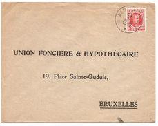 Omslag Uit 1926 Met Stempel Depot Aertselaer Op OBP199 - Entiers Postaux
