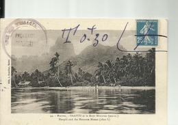 POLYNESIE FRANCAISE -  MOOREA  -  HAAPITI   Et Le Mont MOUAROA - Polynésie Française