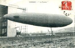 N°53941 -cpa Verdun -le Fleurus- - Zeppeline