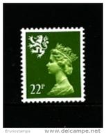 GREAT BRITAIN - 1984  SCOTLAND  22 P.  MINT NH  SG  S48 - Regionali