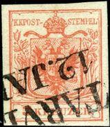 Austria. Scott #3e. Machine Paper. Used. XF. - Used Stamps