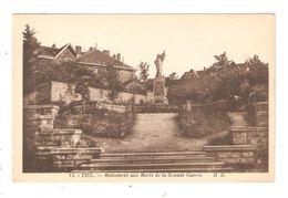 CPA 54 THIL Monument Aux Morts De La Grande Guerre - Other Municipalities