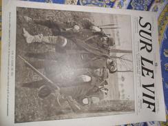 Sur Le Vif N° 12 Du 30-01-1915 Guerre Prisonnier Militaria Soldat Bataille Wahn Roulers Card. Mercier Albert Soissons .. - Bücher, Zeitschriften, Comics