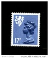 GREAT BRITAIN - 1984  SCOTLAND  17 P.  Type  II   MINT NH   SG  S43Ea - Regionalmarken