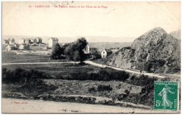 50 CAROLLES - Le Pignon Butor Et Les Villas De La Plage    (Recto/Verso) - France