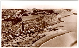 East Hill And Fairlight Cliffs, HASTINGS    (Recto/Verso) - Hastings
