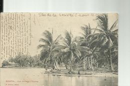 POLYNESIE FRANCAISE -  ILES SOUS LE VENT -  RAIATEA  - Coin De Rivage à TEVAITOA  - PRECURSEUR   1904 - French Polynesia