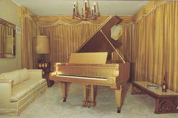 The Music Room Of Elvis Presley´s Graceland Mansion.    H-1132 - Museum
