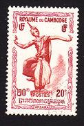 Cambodia, Scott #2, Used, Apsaras, Issued 1951 - Cambodja