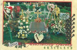 Meditation Garden Graceland  - Elvis Presley.   H-1133 - Museum