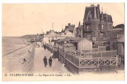 (14) 501, Villers Sur Mer, LL 23, La Digue Et Le Casino - Villers Sur Mer