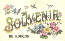 04 - ALPES DE HAUTE PROVENCE / Fantaisie Moderne - CPM - Format 9 X 14 Cm - ROUGON - Other Municipalities