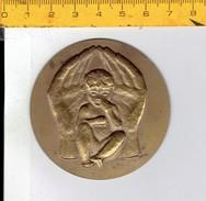 MEDAILLE M E - ENFANT - KIND - Jetons & Médailles
