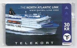 Faroe - The North Atlantic Link. Cruise Ship (serial 2006) - 30Kr. NSB Rare - Faroe Islands