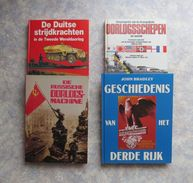 Oorlog 1940 1945 Duitsland Zeemacht Marine Tanks Patton Bastogne Rusland Bismarck Hitler Göring Luftwaffe Kriegsmarine - Books, Magazines, Comics