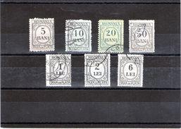 B - 1911 Romania - Taxa De Plata - Segnatasse