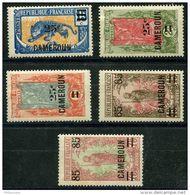 Cameroun (1925) N 106 à 132 * (charniere) - Cameroun (1915-1959)