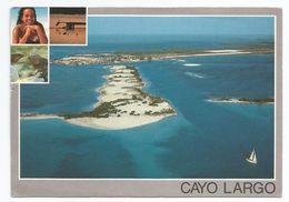 1980, Cuba - Cayo Largo Del Sur.- Vista Aerea. - Cuba