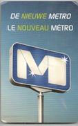 BRUXELLES En TRAIN, TRAM, BUS, METRO, TAXI - PLAN DU RESEAU DE L'AGGLOMERATION DE BRUXELLES - SERVICES DES TRANSPORTS. - Europe