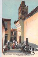Afrique Algérie TLEMCEN La Mosquée De Sidi-Liddoun Et Le Rue Beni-Zayen ( Editions : LL 69 )* PRIX FIXE - Tlemcen