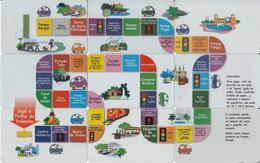 BRAZIL(Telepar/Brasil Telecom) - Siga Trhla Do Transito, Puzzle Of 9 Cards, 08-09/01 - 01-02/02, Used - Brasilien