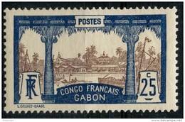 Gabon (1910) N 39 * (charniere) - Ongebruikt